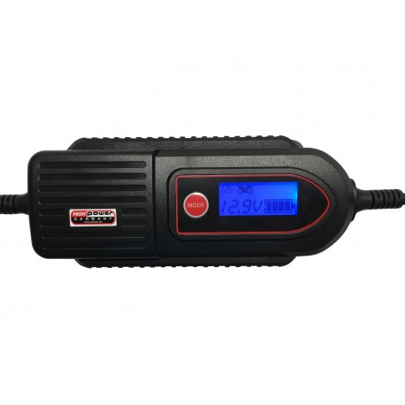 Luxe 12V Acculader LCD Display 2+4 Amp.