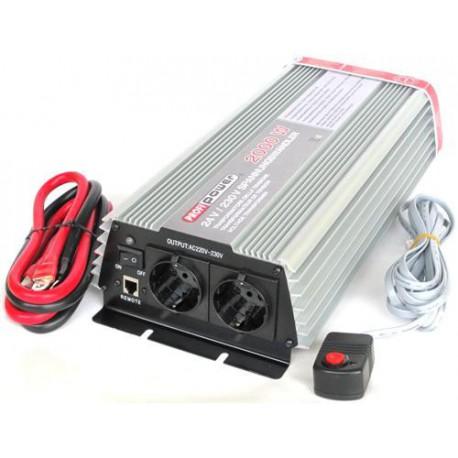 Omvormer 12V naar 230V - 2000 / 4000 Watt.