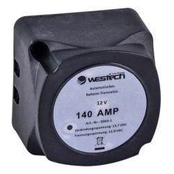 Automatische Accuscheider 140A 12V voor 2 Accu's