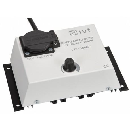 Toerental Regelaar variabel tussen 10V tot 230V