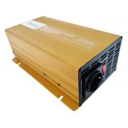 Sinus Omvormer 12V naar 230V - 1000 / 2000 Watt.