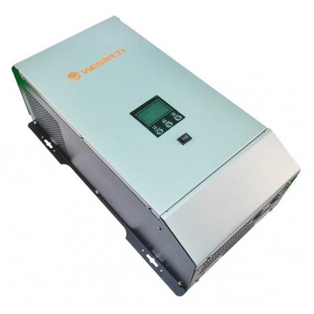 Zuivere Sinus Combi Omvormer 24V naar 230V 3000 / 6000 Watt met 40A Acculader