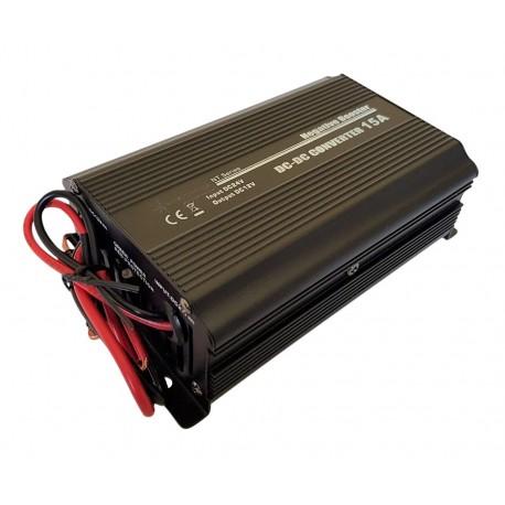 Omvormer 24 Volt naar 12 Volt - 15 Ampere - 180 Watt