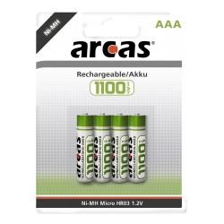 4x AAA 1100mAh Oplaadbare Batterijen Potlood
