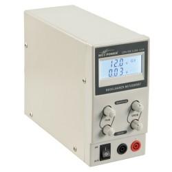 Regelbare 230V naar 0-30V Voeding 0-5A met Display