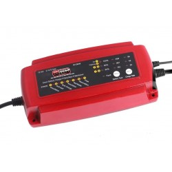 Automatische 12V Acculader 2, 4 of 8 Ampere