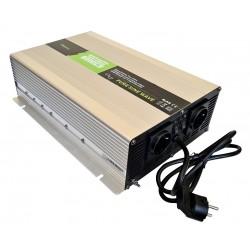 Sinus Omvormer Acculader 24V naar 230V 2000 / 4000 Watt