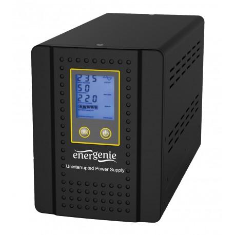Sinus Omvormer Acculader 12V naar 230V 480 / 575 Watt