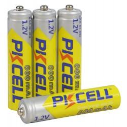 4x AAA Oplaadbare Batterijen