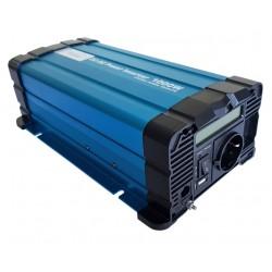 Sinus Omvormer 24V naar 230V - 1000 / 2000 Watt