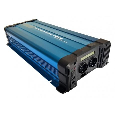 Sinus Omvormer 12V naar 230V - 4000 / 8000 Watt