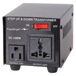 Spannings Omvormer 230V & 110V 100 Watt, ook 100V Japan