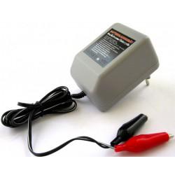 Acculader voor 6V & 12V accu's 0,5 Ampère