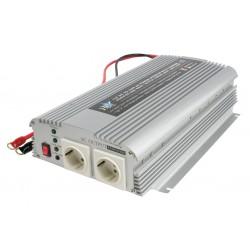 Omvormer met Accu Lader 12V naar 230V - 1000 / 2400 Watt