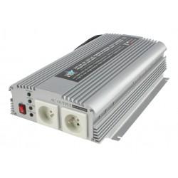 Omvormer Acculader 24V naar 230V - 1200 / 2400 Watt.
