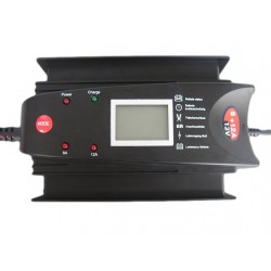 Luxe 12V Acculader LCD Display 6+12 Amp.