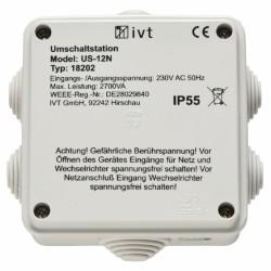 Omschakel Automaat 12A voor Walstroom of Paalstroom