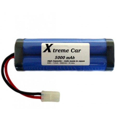 Oplaadbare RC Accu Pack 5000mAh 7,2 V