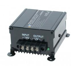 Omvormer 24 Volt naar 12 Volt - 10/15 Ampere - 120/180 Watt
