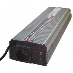 Omvormer met Accu Lader 12V naar 230V 1000 / 2000 Watt