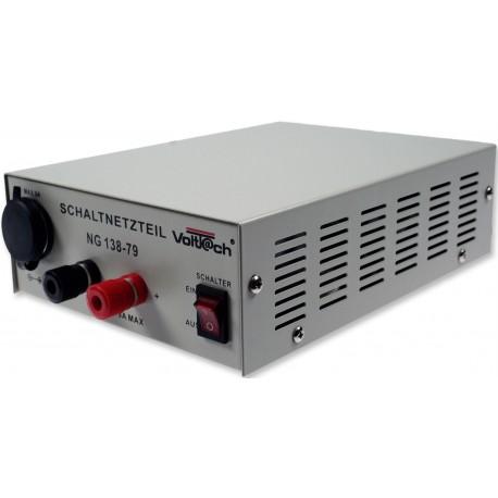 Gestabiliseerde Voeding van 230V naar 13,8V 7/9A - 95 Watt