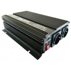 Omvormer 24V naar 230V - 1500 / 3000 Watt.