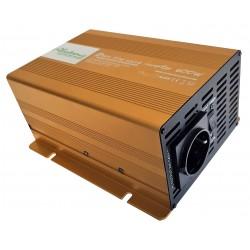Sinus Omvormer 24V naar 230V - 600 / 1200 Watt.