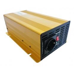 Sinus Omvormer 24V naar 230V - 1000 / 2000 Watt.
