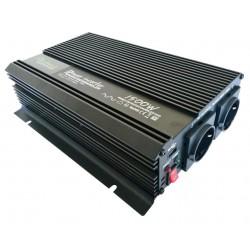 Omvormer 12V naar 230V - 1500 / 3000 Watt.