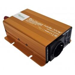 Sinus Omvormer 24V naar 230V - 300 / 600 Watt.