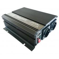 Omvormer 12V naar 230V - 1000 / 2000 Watt.