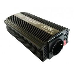 Omvormer 12V naar 230V - 600 / 1200 Watt.