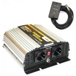 Omvormer 12V naar 230V - 1500 / 3000 Watt + Afst. Bed.
