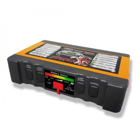 Mini Jump Start 12V met USB Power Bank 400A
