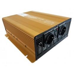 Sinus Omvormer 24V naar 230V - 2000 / 4000 Watt + Afst.bed.