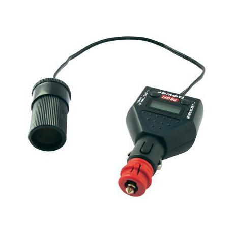 Timer- Car-Plug, 12Volt Tijdschakelaar met LCD Scherm